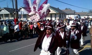 Second Line parade, New Orleans