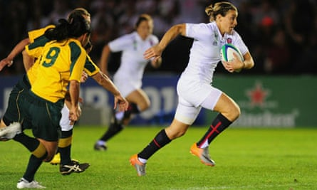 England v Australia Womens Rugby World Cup 2010
