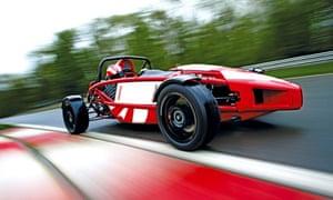 Ariel Atom racing car