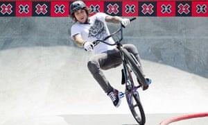 Harry Main, Liverpool-born BMX rider