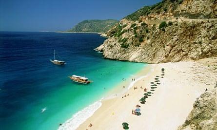 Kaputas Beach, Antalya Turkey