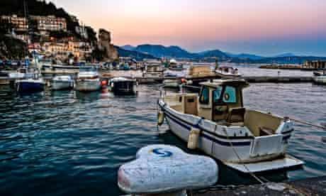Cetara harbour