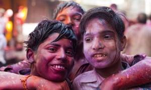 """"""" Holi, festival of colours, India"""""""