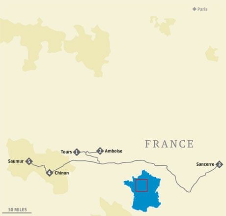 Amboise France Map.French Road Trip Chateaux And Wine In The Loire Valley Travel
