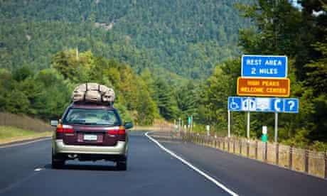 Car, upstate New York