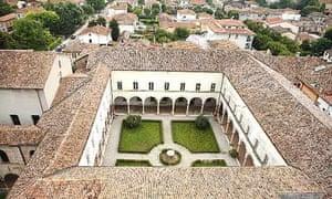 San Benedetto Po monastery, Italy