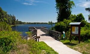 Cabins, Lake Louisa State Park