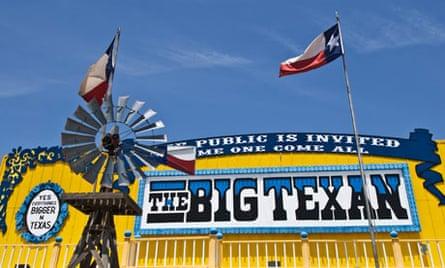 The Big Texan, Amarillo, Texas