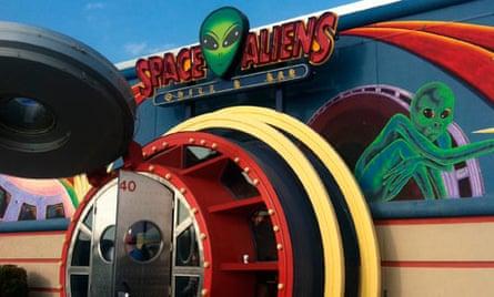 Space Aliens Grill & Bar, Fargo, North Dakota