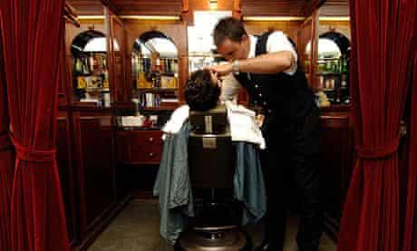 Geo F Trumpers barbershop, Mayfair