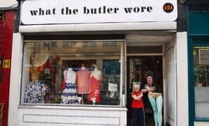 What the Butler Wore, vintage clothing