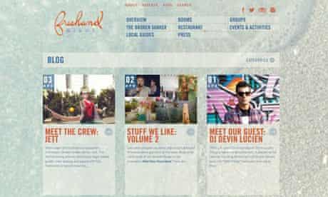 Freehand, Miami blog
