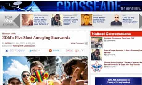 Crossfade, Miami blog