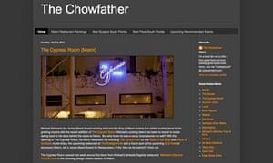 Chowfather, Miami blog