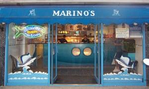 Marino's Fish Bar, Canterbury