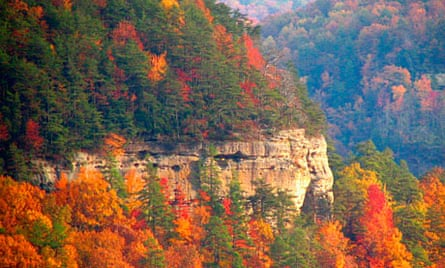 Lookout Mountain, Chattanooga to Nashville