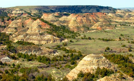 Painted Canyon, North Dakota