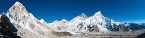 Everest base camp panorama