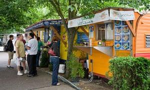 Food vans in Portland, Oregon