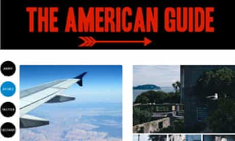 The American Guide website