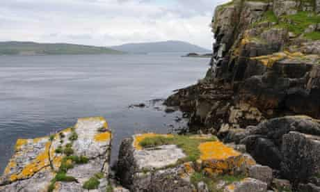An Aird peninsula on the Isle of Skye
