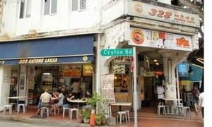 Singapore, Katon Laksa coffee shop