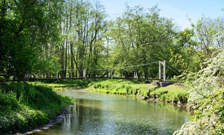 River Lugg, Bodenham