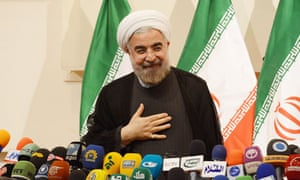 Iran's president-elect Hassan Rouhani