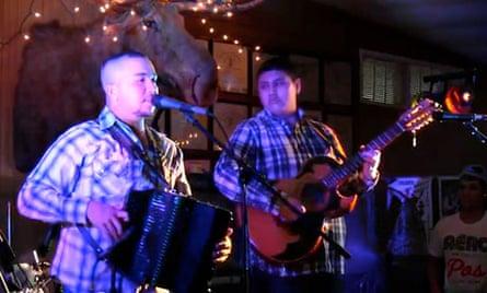 Randy Garcia performs at the 2013 Rancho Alegre Conjunto festival