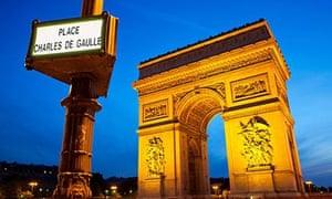"""""""Arc de Triomphe, Place Charles de Gaulle, Paris"""""""