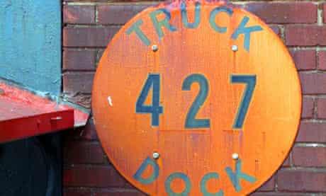 Lehigh Heavy Forge, Truck Dock 427, Bethlehem, Pennsylvania