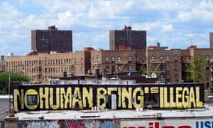 No Human Being Is Illegal, Bronx, New York