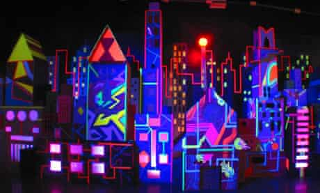 A piece by art collective Meow Wolf. Photograph: Meow Wolf