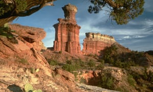 Lighthouse Rock in Palo Duro Canyon