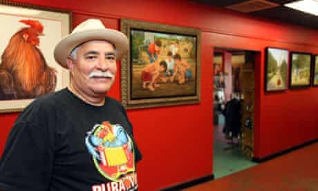 Joe Lopez, artist and owner of the Gallista Gallery