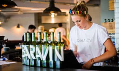 Baravin cafe bar bistor, Aberystwyth, Wales