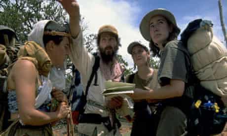 Boulder Outdoor Survival school pupils in the Colorado wilderness