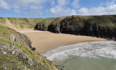 Porth Iago beach, Wales