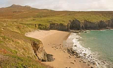 Porthmelgan on the Pembrokeshire coast