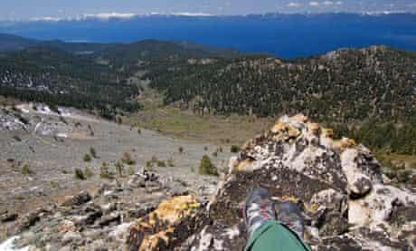 Hiking, Lake Tahoe, Nevada