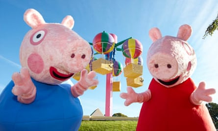 Peppa Pig World. Paultons Park, Hampshire