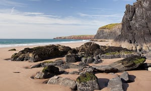 Musselwick Sands, Pembrokeshire, Wales