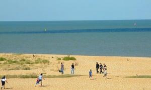 Walmer beach, Kent
