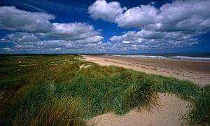 Druridge Bay, Northumberland