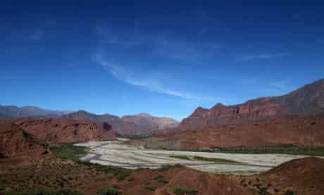 Quebrada de las Conchas (Shell valley) near Cafayate