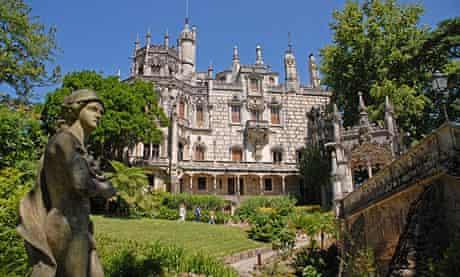 Palacio e Quinta da Regaleira in Sintra, Portugal