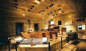 Original Mississippi Delta gospel church at Stax Museum