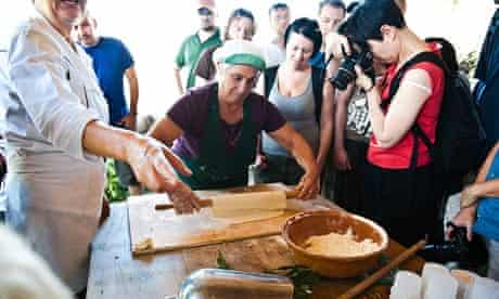 Open Trips food tour of Cilento, Italy