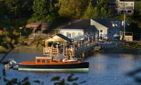 The Slipway restaurant, in Thomaston, Maine