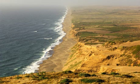 Point Reyes beach, California